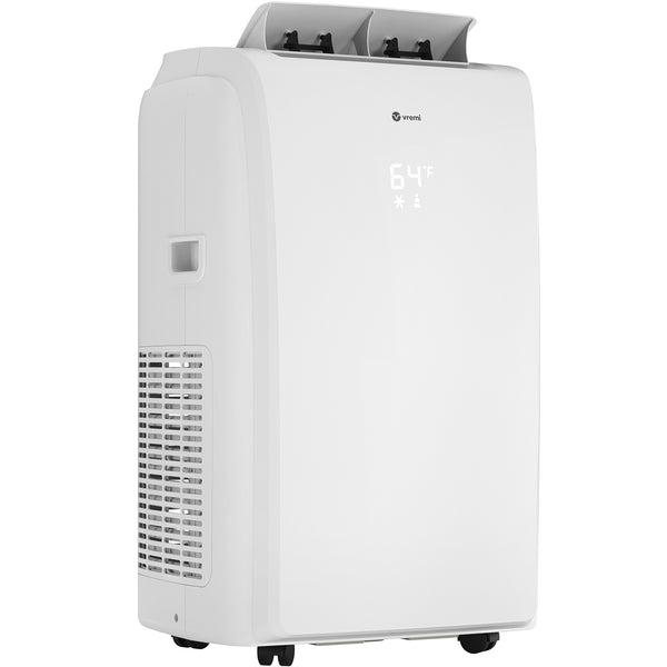 8,000 BTU Portable Air Conditioner with Heat Function (Previously ASHRAE Rated at 12,000 BTU)