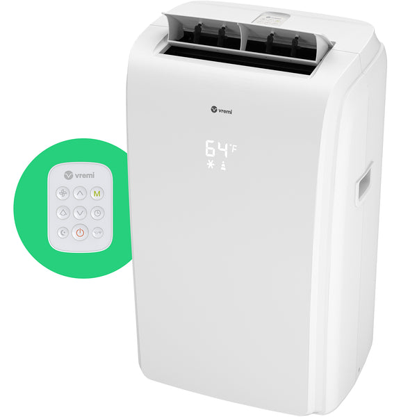 New CEC Rated 8,000 BTU Portable Air Conditioner (Previously ASHRAE Rated at 12,000 BTU)