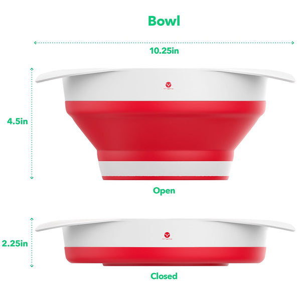 Strain Train Express Colander + Bowl Set