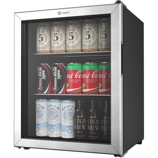 Beverage Cooler - 2.7 Cubic Feet Mini Fridge