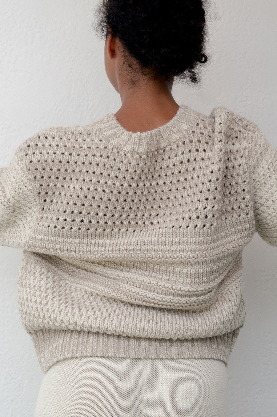 Quarry Pullover : Smoky Quartz