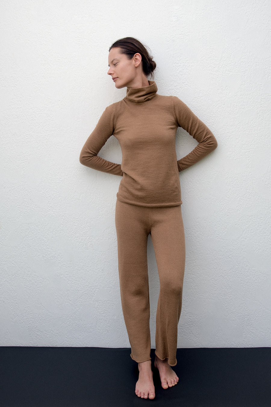 Layering Turtleneck : Fawn