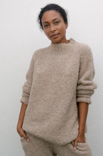 Lounge Pullover : Sand