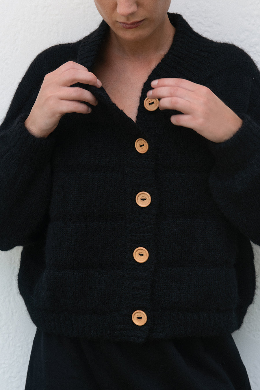 Quilted Bomber : Onyx