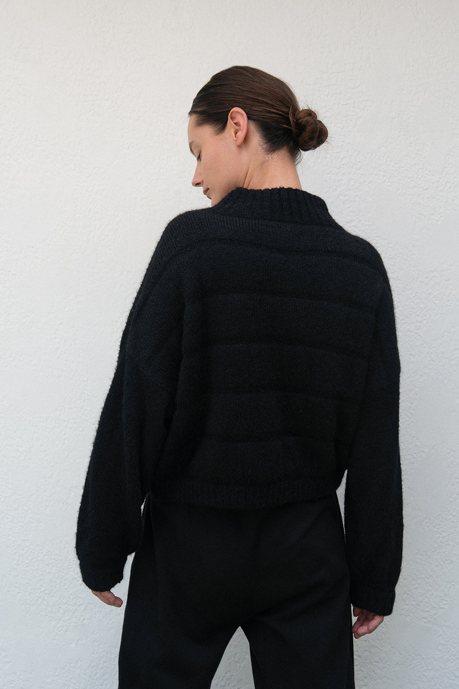 Quilted Bomber : Heather