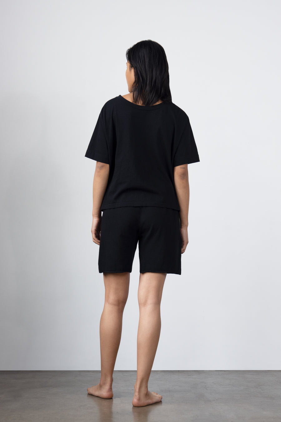 Easy Box Tee : Black