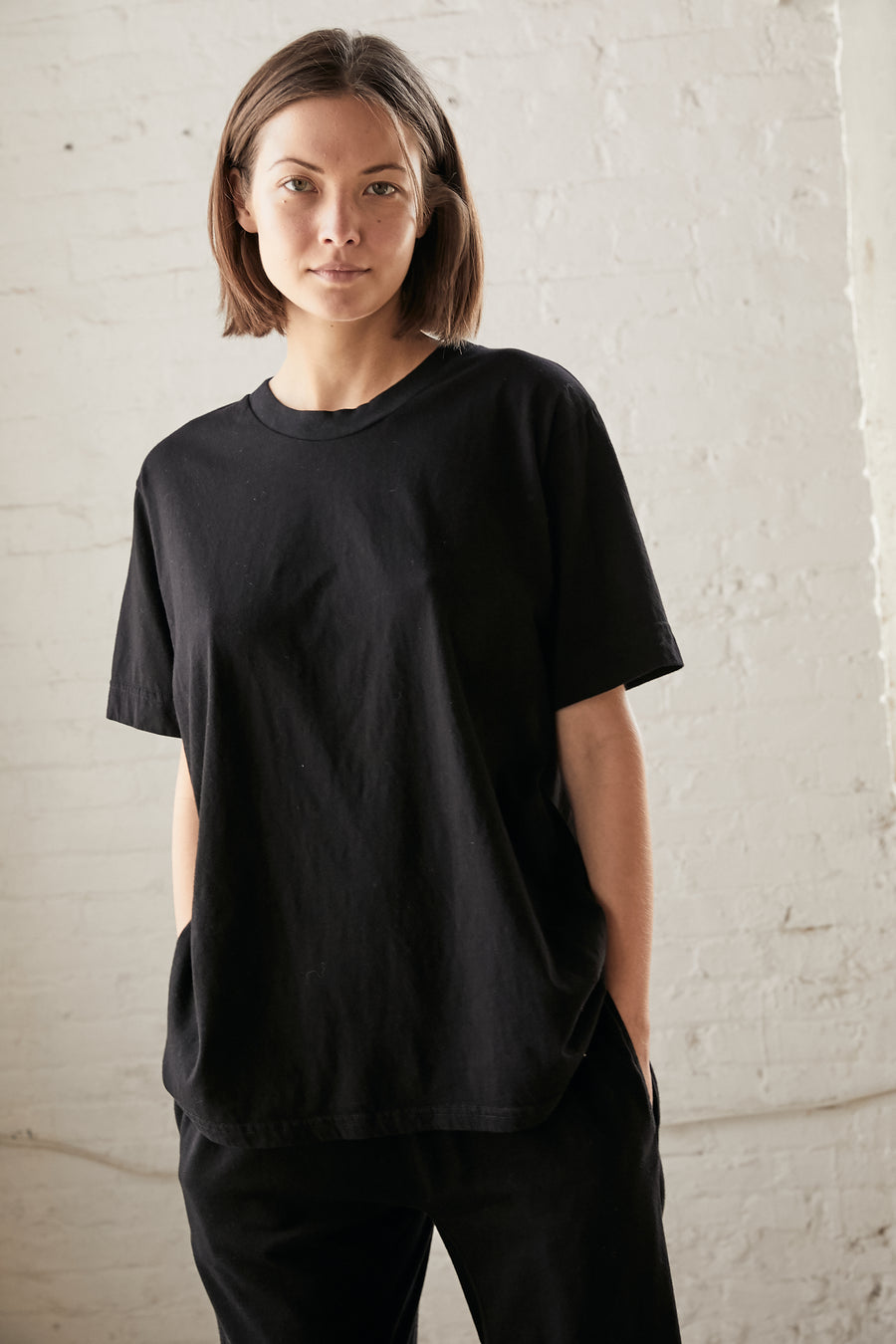 Easy Big Tee: Black