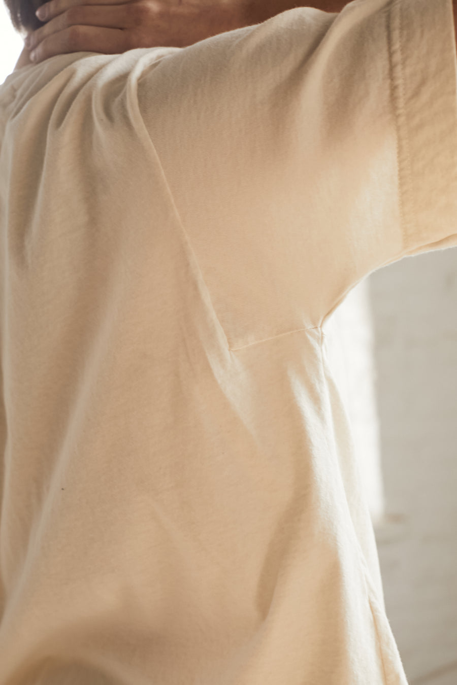 Easy Big Tee: Natural