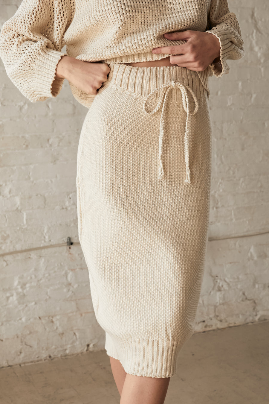 Pebble Skirt : Natural
