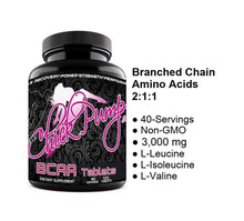 ChickPump BCAA Tablets - Pure 2:1:1 BCAAs - ChickPump
