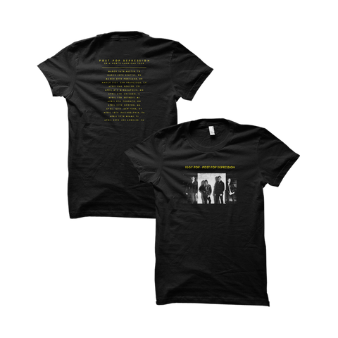 Album Cover Women's Tour Tee - Post Pop Depression - 1
