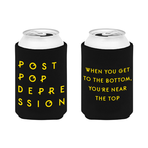 Logo Koozie - Post Pop Depression