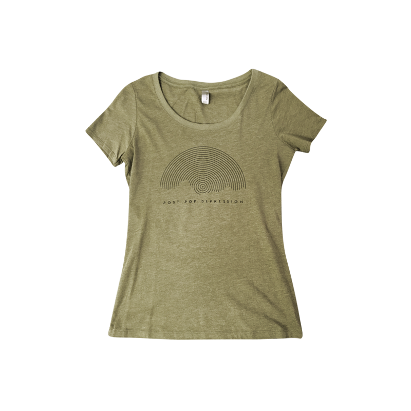 Circles Women's Tee - Post Pop Depression