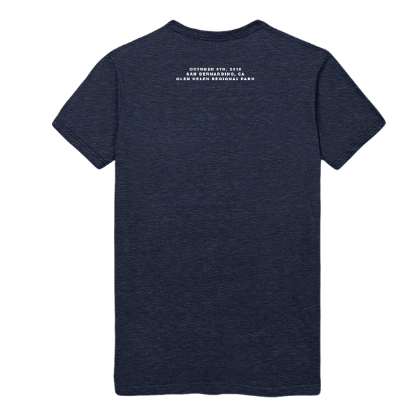 Shoreline CalJam Event Tee (Heather Navy) - Post Pop Depression
