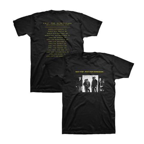 Album Cover Unisex Tour Tee - Post Pop Depression