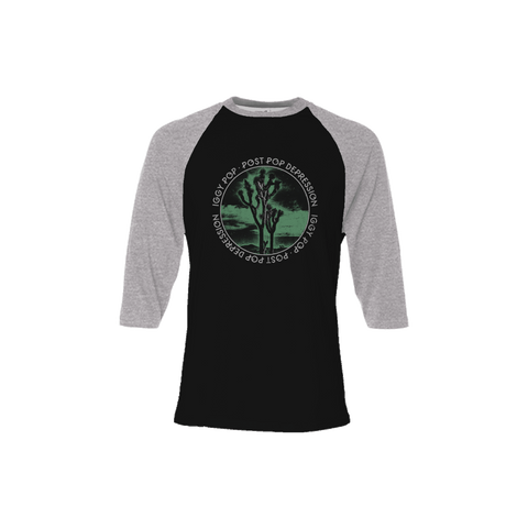 Joshua Tree 3/4 Sleeve Baseball Tee - Post Pop Depression