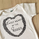 Sweetheart of the Rodeo onesie