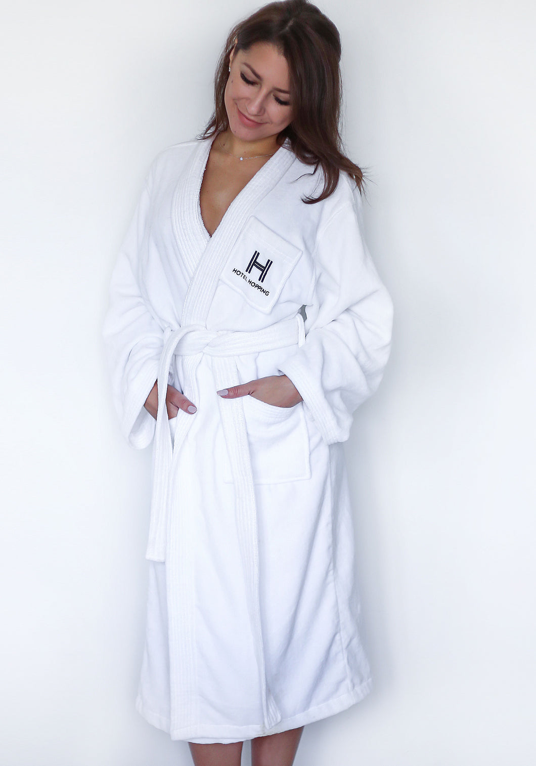 Small Hotel Hopping Bath Robe