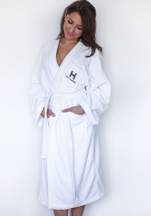 Medium/Large Hotel Hopping Bathrobe