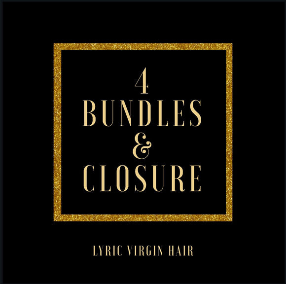 4 Bundles & Closure Deal
