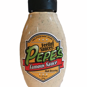 Pepe's Famous Aioli Dressing - 1 Bottle
