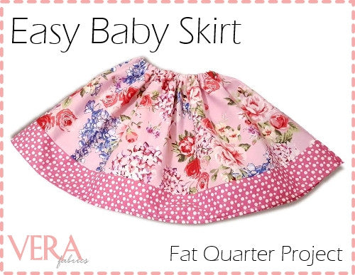 Fat Quarter Baby Skirt Project