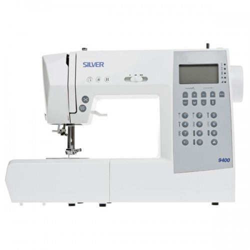Silver 9400E Computerised Sewing Machine - Vera Fabrics
