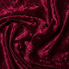 100% Polyester Crushed Velour 60