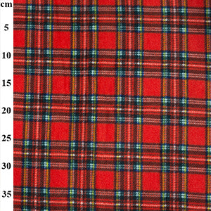 "100% Polyester Fleece Tartans 60"" - 3 Colours"