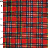 100% Polyester Fleece Tartans 60