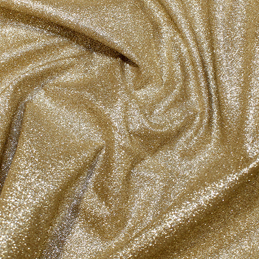 "Polyester Backed Glitter PU Fabric 52"" - 7 Colours"
