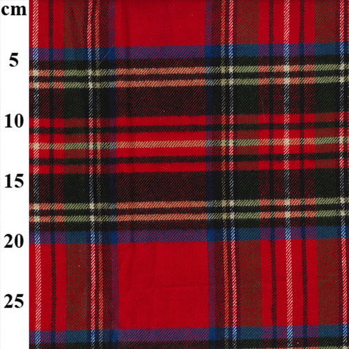 "100% Cotton Heavy Cotton Tartans 42"" - 3 Colours"