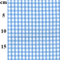 "65% Polyester 35% Cotton Gingham – 1/4"" Checks 45"