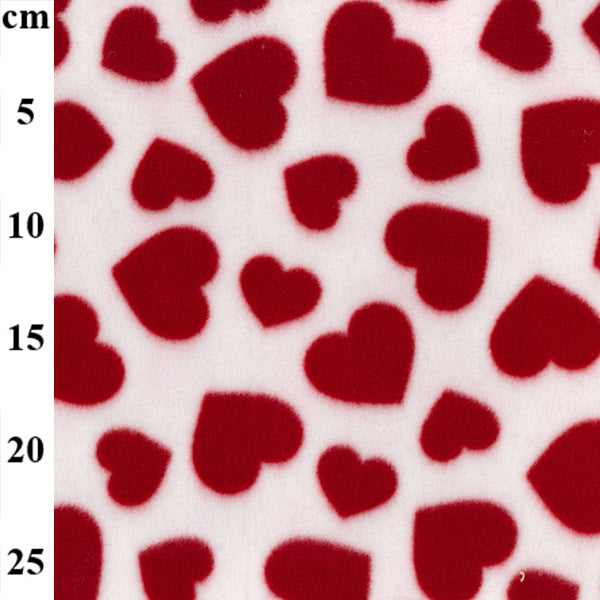 "100% Polyester Valentines Fleece Prints 60"" - 8 Colours"