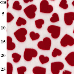 100% Polyester Valentines Fleece Prints 60