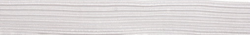 Braided Elastic 10mm - White - 10 Metres - Vera Fabrics