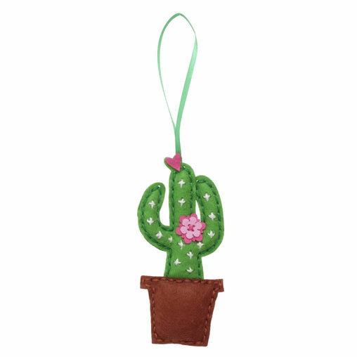 Children's Felt Decoration Kit: Cactus - Vera Fabrics