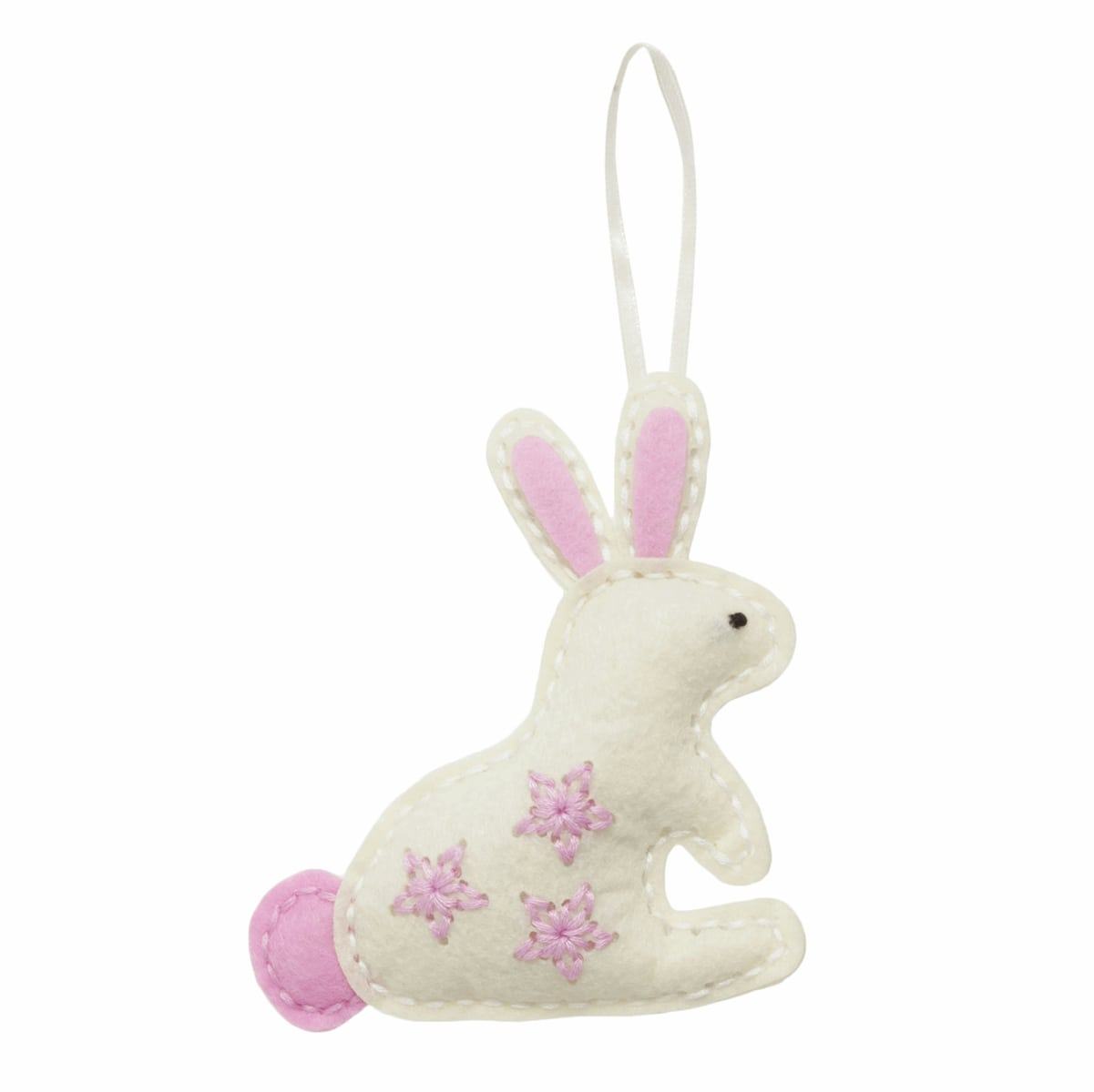 Children's Felt Decoration Kit: Bunny Rabbit - Vera Fabrics