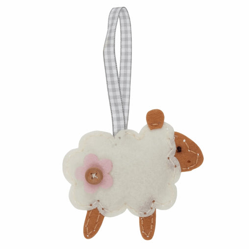 Children's Felt Decoration Kit: Sheep - Vera Fabrics
