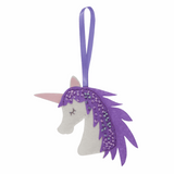 Children's Felt Decoration Kit: Unicorn