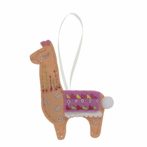 Children's Felt Decoration Kit: LLama - Vera Fabrics