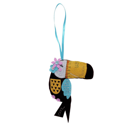 Children's Felt Decoration Kit: Toucan Bird - Vera Fabrics