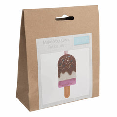 Children's Felt Decoration Kit: Ice Lolly - Vera Fabrics