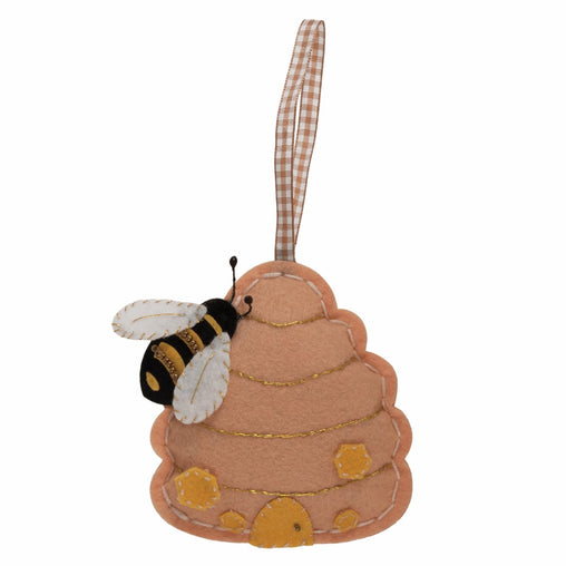 Children's Felt Decoration Kit: Bee Hive - Vera Fabrics