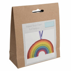 Children's Felt Decoration Kit: Rainbow - Vera Fabrics