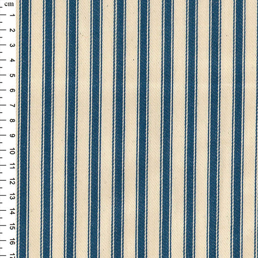 "100% Cotton Canvas Ticking Stripes 53"" - 10 Colours"