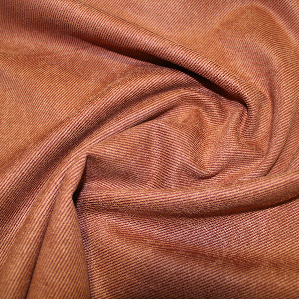 "95% Polyester 5% SpandexNew Suede Twill Fabric 57"" - 10 Colours"