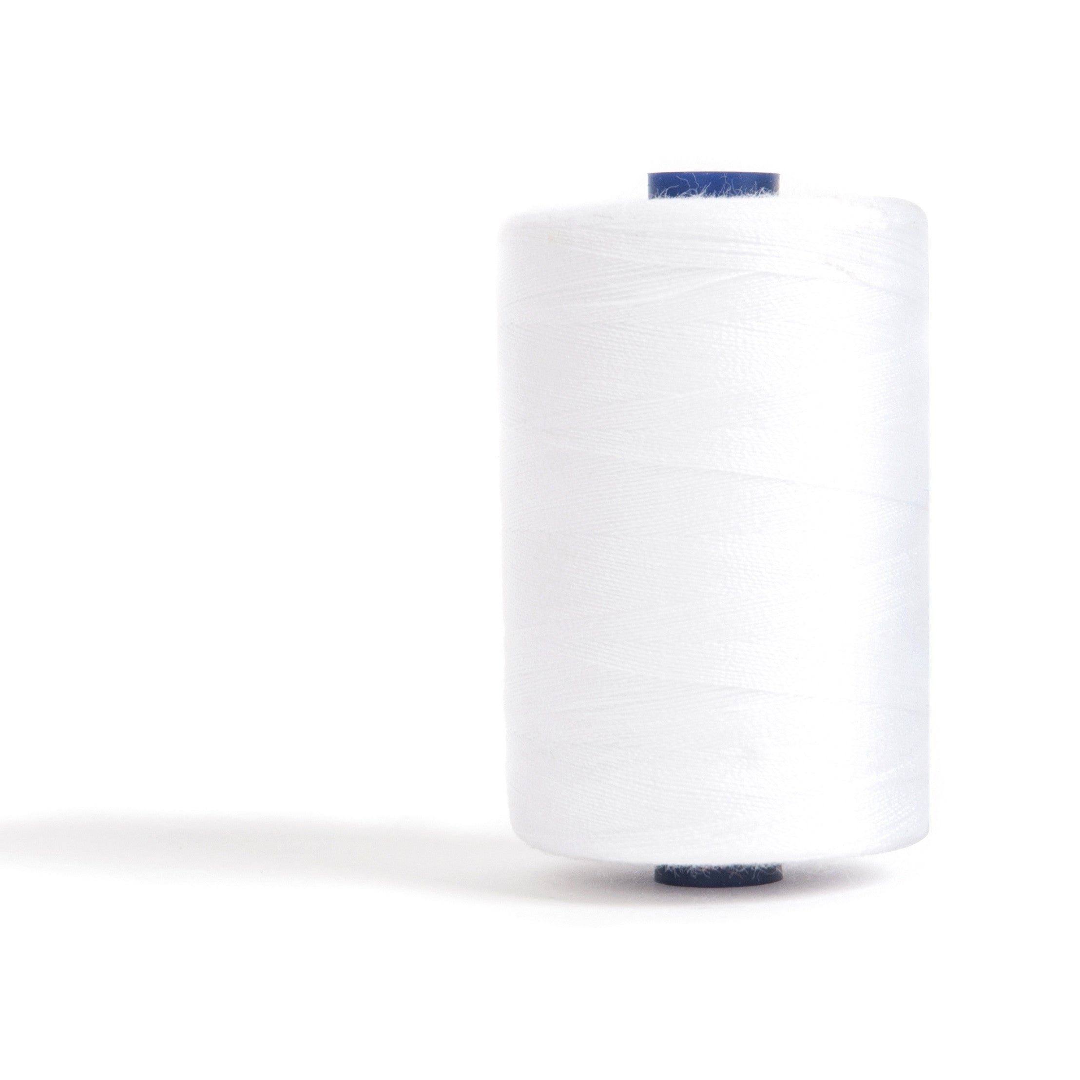 Sewing and Overlocking Thread - 1000m - White - Vera Fabrics