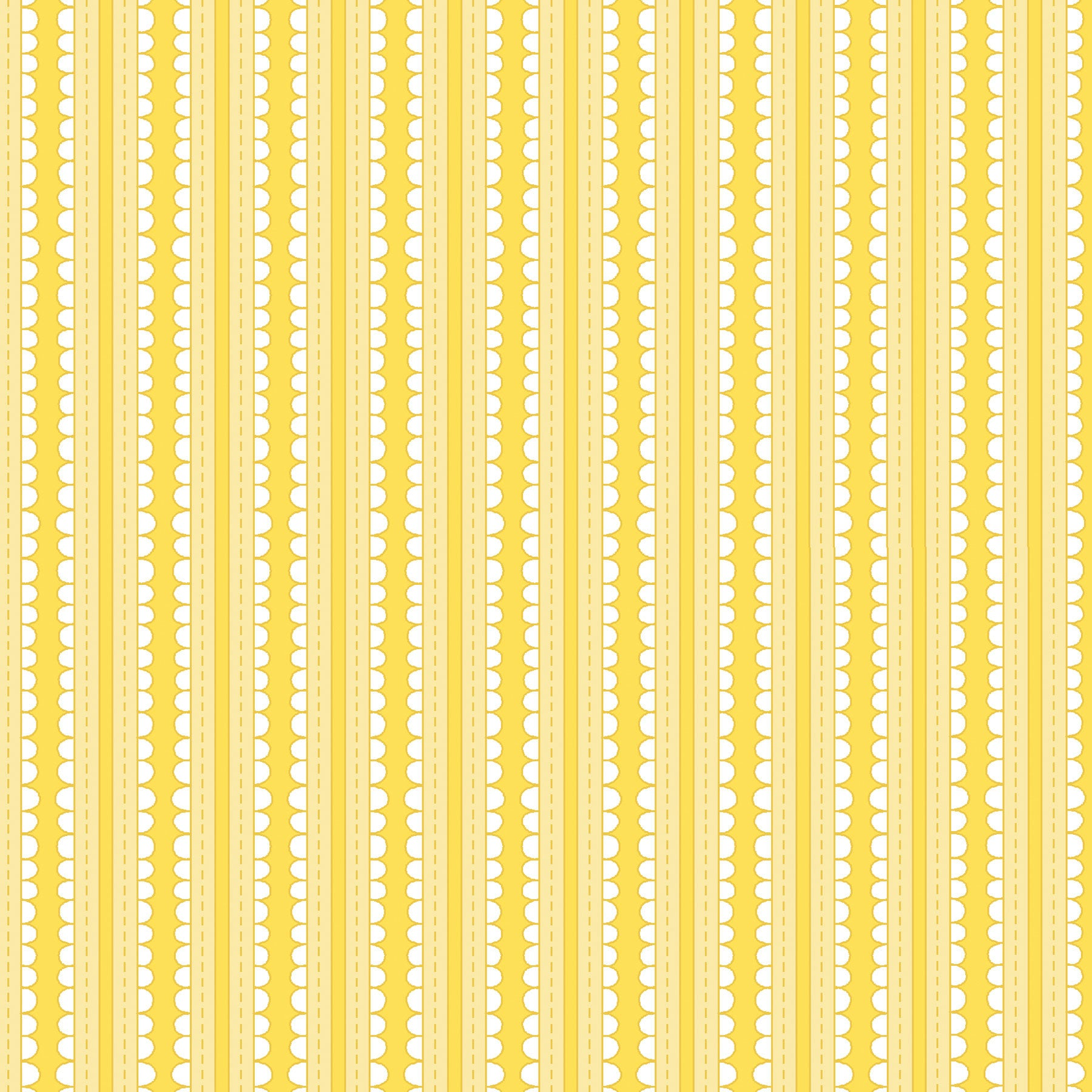 Yellow Ribbons Basically Hugs Cotton Fabric - Vera Fabrics
