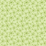 Green Flowers Basically Hugs Cotton Fabric
